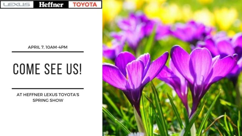 Heffner Lexus Toyota's Spring Show